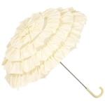 MySchirm Designer Brautschirm Hochzeitsschirm in creme - eleganter Schirm