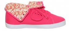 Circa Skateboard Damen Schuhe NATHTW Rurf Pink/Blumen
