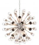 Casa Padrino Luxus Designer Kronleuchter Silber Durchmesser 75 cm - Limited Edition