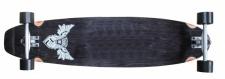 Flying Wheels Longboard Kicktail Komplettboard 107 x 25 cm Cruiser Carver - Special Edition mit Koston Kugellagern