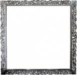 Casa Padrino Barock Holz Bilderrahmen 150 x 160 cm Silber - Großer Fernseher Bilder Rahmen - Jugendstil Antik Stil