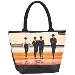 """Designer Shoppertasche mit dem Motiv des schottischen Künstlers Jack Vettriano """" The Billy Boys"""" - Elegante Tasche - Luxus Design"""