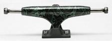 Crail Skateboard Achsen Set 133 LOW Pattern Lysergic grün/schwarz