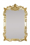 Casa Padrino Barock Wandspiegel Gold 70 x H. 110 cm - Luxus Edition