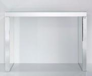 Casa Padrino Luxus Spiegelglas Konsole 121 x 36 x H. 88 cm - Luxus Möbel & Accessoires