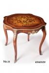 Casa Padrino Barock Beistelltisch 65 x 65 x H. 50 cm - Luxus Qualität
