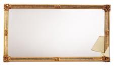 Casa Padrino Barockstil Wandspiegel Gold 185 x H. 100 cm - Hotel & Restaurant Möbel