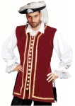 Captain Easton Piraten Weste - Red