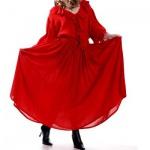 Grace O'Malley Piraten Rock - Red