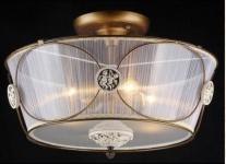 Casa Padrino Barock Decken Kronleuchter Bronze 54 x H 36 cm Antik Stil - Möbel Lüster Leuchter Deckenleuchte Deckenlampe