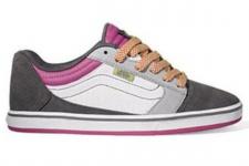 Vans Skateboard Schuhe Amberton Lo Grey / Pink - Sneaker Skate Shoes