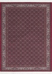 Casa Padrino Luxus Teppich mit Fransen Rot - Verschiedene Größen - Deko Accessoires