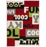 Casa Padrino Designer Teppich 160 x 230 cm Cool & Funky - Läufer