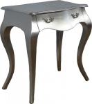 Casa Padrino Barock Konsolentisch Silber mit Schubladen - Antik Stil - Barock Möbel