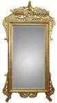 Casa Padrino Luxus Barock Wandspiegel Gold 110 x H. 210 cm - Edel & Prunkvoll
