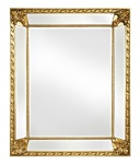 Casa Padrino Barock Spiegel Gold 91 x H. 112 cm - Barock Wohnzimmermöbel