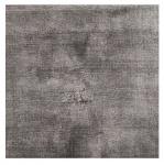 Casa Padrino Viskose Wohnzimmer Teppich Grau 140 x 200 cm - Luxus Qualität