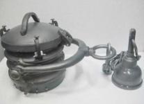 Casa Padrino Industrial Hängeleuchte Raw Alu 40 x 40 x 49 cm - Industrie Design Vintage Lampe Leuchte