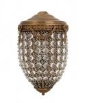 Casa Padrino Luxus Wandleuchte Antik Messing - Luxury Collection