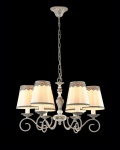 Casa Padrino Barock Decken Kronleuchter Grau Antique 60 x H 38 cm Antik Stil - Möbel Lüster Leuchter Hängeleuchte Hängelampe