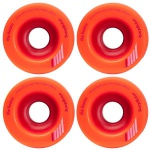 Orangetang Longboard Profi Wheels Keano 66mm / 80a Orange - Longboard Cruiser Wheel Set (4 Rollen)