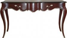 Casa Padrino Luxus Barock Konsolentisch Braun / Gold - Konsole Tisch Beistelltisch