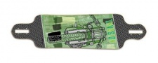 Invasion by Jet Transporter CycleCity Longboard Deck 10.2 x 39.5 - Drop Through Cruiser Longboard