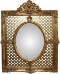Casa Padrino Barock Luxus Spiegel Gold B 101 cm, H 141 cm - Edel & Prunkvoll - Limited Edition
