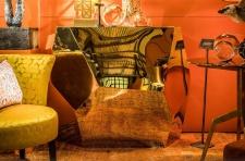 Casa Padrino Designer Konsole Gold 125 x 54 x H. 100 cm - Designer Kollektion