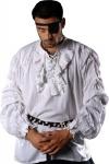 Buccaneer Piraten Shirt - White
