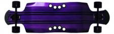 Beercan Boards Longboard Cruiser Komplettboard Lite Oat Soda 10.5 x 35.0 inch Purple - Aluminium Skateboard Long Board