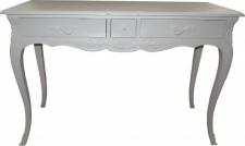 Casa Padrino Barock Konsolentisch Antik Stil Weiss mit 3 Schubladen 120 cm - Konsole Schrank Kommode