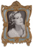 Casa Padrino Barock Bilderrahmen Antik Gold 19, 5 x H. 28, 5 cm - Prunkvoller Tisch-Bilderrahmen im Barockstil