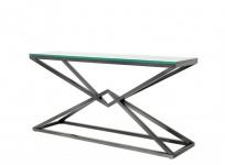 Casa Padrino Luxus Konsole Bronze 150 x 40 x H. 74 cm - Konsolen Tisch Möbel