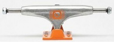 Crail Skateboard Achsen Set 129 LOW LIGHT silber/orange (2 Achsen)