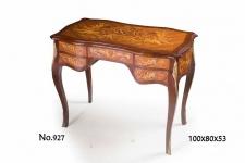 Casa Padrino Barock Schreibtisch / Sekretär 100 x 53 x H. 80 cm - Antik Stil