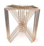 Casa Padrino Luxus Beistelltisch Gold 46 x 46 x H. 46 cm - Designer Möbel