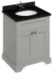 Casa Padrino Luxus Waschschrank / Waschtisch mit Granitplatte und 2 Türen - Limited Edition