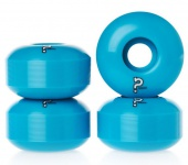 Enuff Skateboard Profi Wheel Set (4 Rollen) Blau - Skateboard Wheels 55mm / 101A