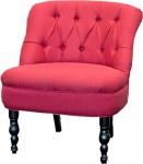 Luxus Barock Salon Stuhl Paris Rot aus der Luxus Kollektion von Casa Padrino - Hotel Cafe Restaurant Möbel Einrichtung