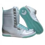 Osiris Uptown Ltd Girls Winter Boots White/Teal/Silver - Snowboard Skateboard Boot Stiefel Schuhe