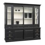 Großer Shabby Chic Landhaus Stil Schrank mit 5 Türen und 10 Schubladen - Buffetschrank - Schrank Esszimmer