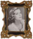 Casa Padrino Barock Bilderrahmen Antik Gold / Rot / Schwarz 21, 8 x H. 26, 2 cm - Barock Deko Accessoires