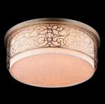 Casa Padrino Barock Decken Kronleuchter Gold 50 x H 24, 3 cm Antik Stil - Möbel Lüster Leuchter Deckenleuchte Deckenlampe