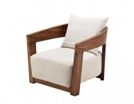 Casa Padrino Luxus Art Deco Mahagoni Sessel - Luxus Hotel Möbel