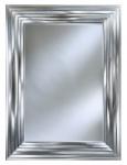 Casa Padrino Luxus Wandspiegel Silber 118 x H. 158 cm - Wohnzimmer Accessoires