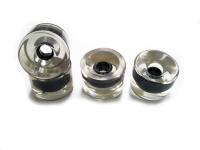 70mm 78a Blank Longboard Wheels Klar (4 Stück) Clear Wheel Set Skateboard