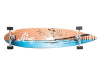 Krown Longboard Komplettboard Skateboard Sunset Pier Pintailmit Koston Kugellagern