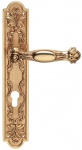 Casa Padrino Barock Türklinken Set Französisches Gold 15, 3 x H. 30 cm - Barockstil Türgriff Set
