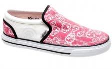 Etnies Skateboard Damen Schuhe Fakie Pink/Pink White